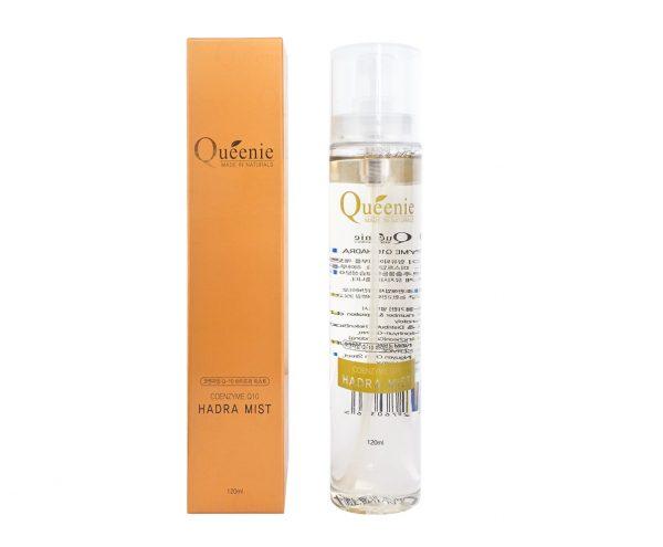Xịt khoáng dưỡng ẩm Q10 tác dụng hỗ trợ kiềm dầu